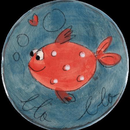 dessous plat poisson