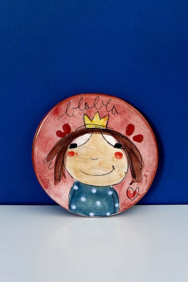 princesse céramique sous plat