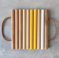 DIY dessous de plat Pierre Papiers Ciseaux