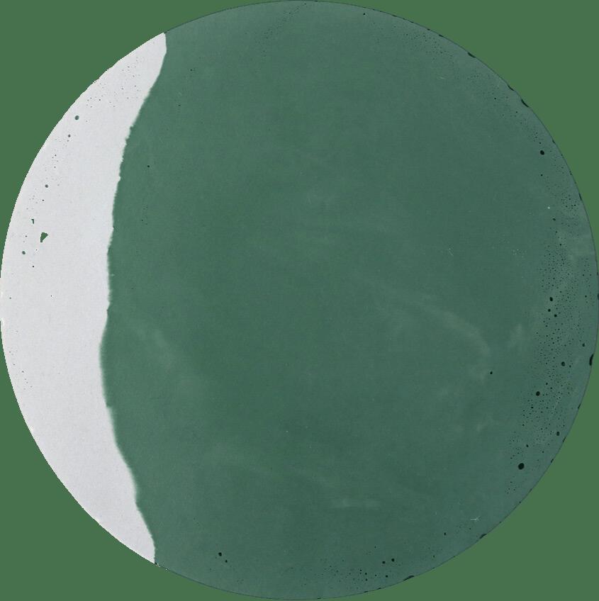 dessous de plat vert béton zuri