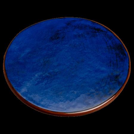 dessous de plat bleu nikolepirate