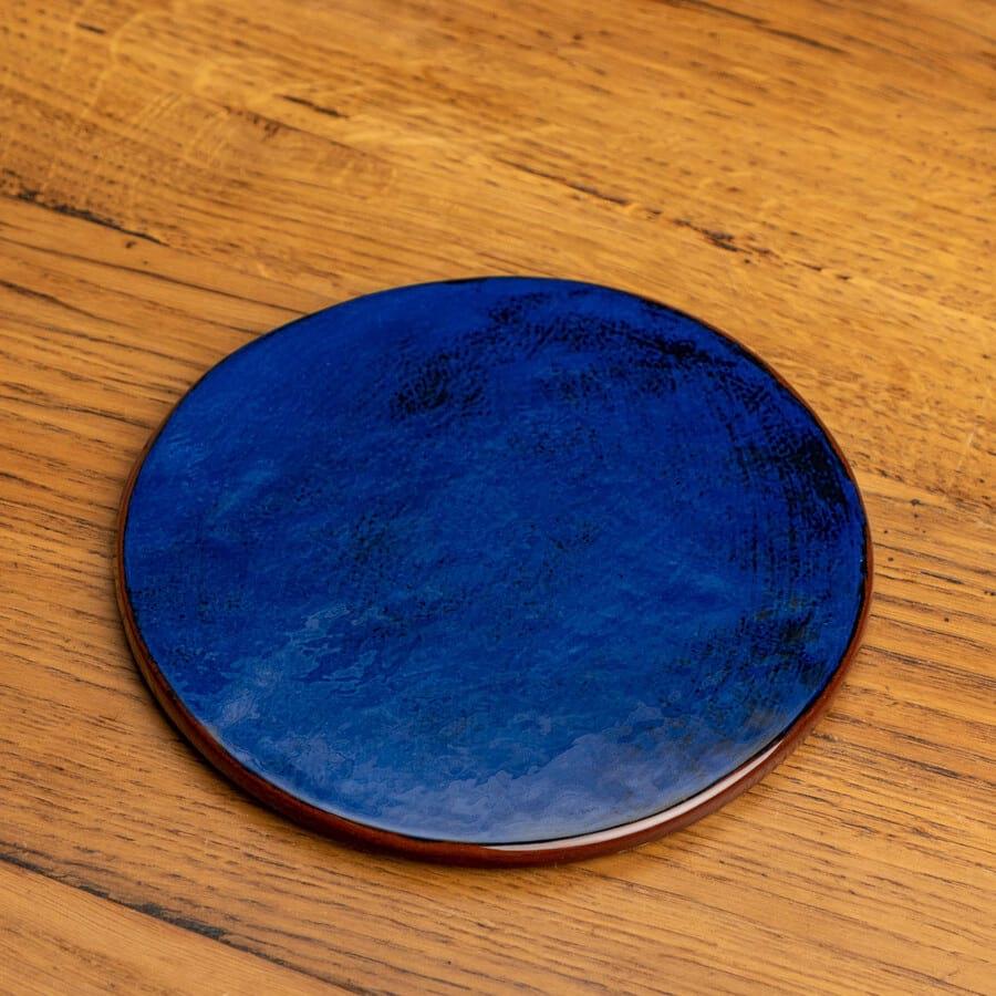 Dessous de plat bleu céramique Nikolepirate